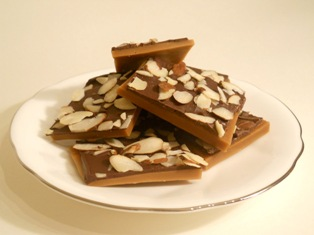 toffee, toffee bars, english toffee, peanut toffee, almond toffee